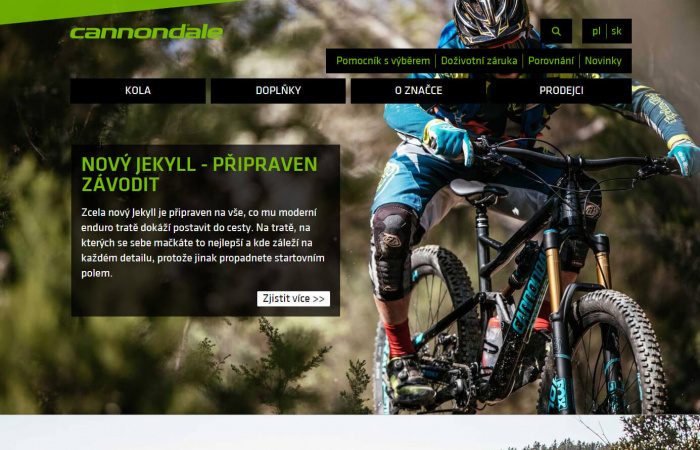 Redesign Cannondale Bikes