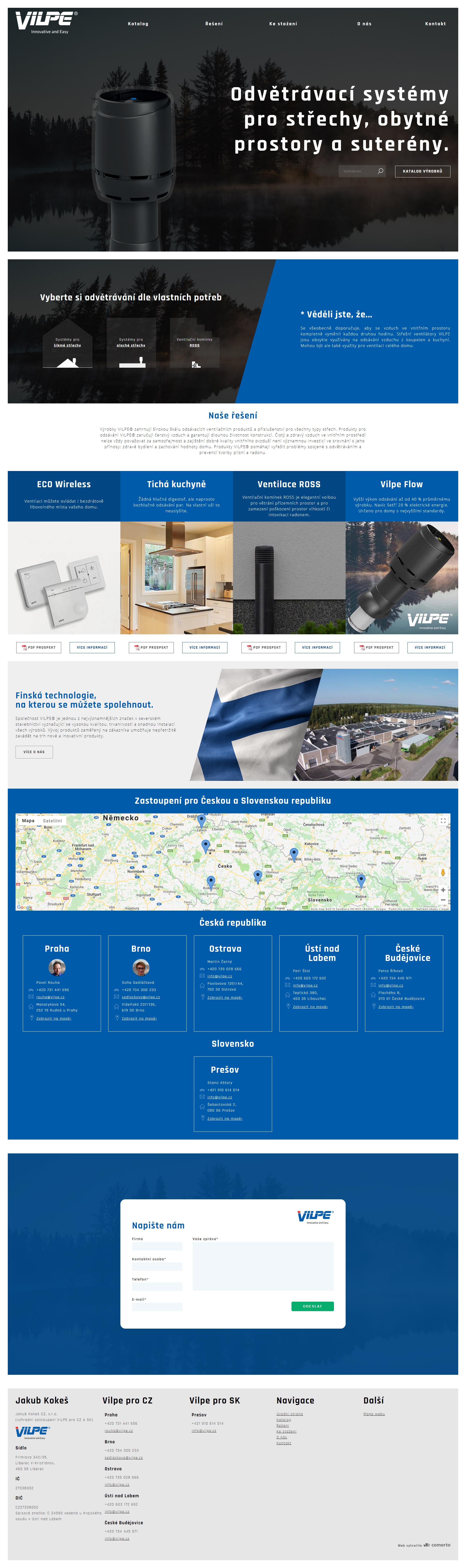 webové stránky s otevřeným zdrojovým kódem